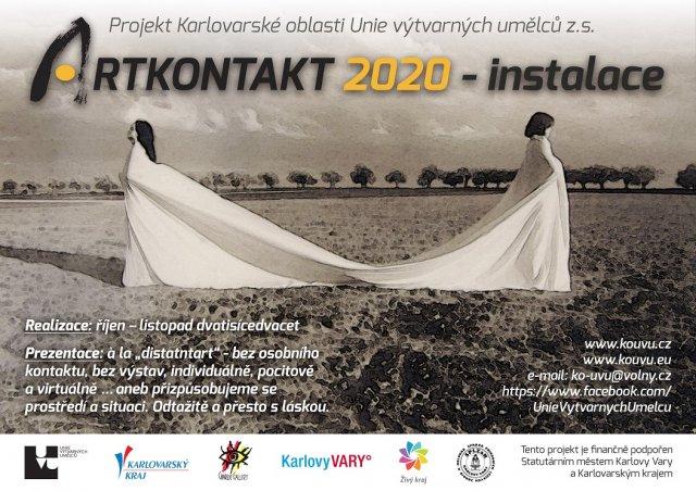 ARTKONTAKT 2020 - instalace