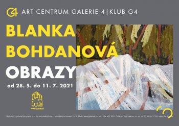GALERIE 4|Blanka Bohdanová - Obrazy