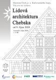 Lidová architektura Chebska