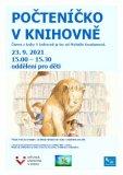 Počteníčko v knihovně - počteme si z knihy V knihovně je lev, americké autorky Michelle Knudsen